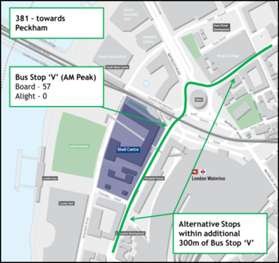 The Original Tour London Map.Our South Banksouth Bank Bus Diversions From 1 December 2015 Our